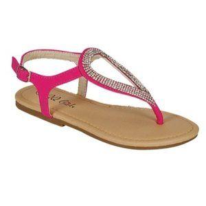 Sophie Girls Teardrop Sandal